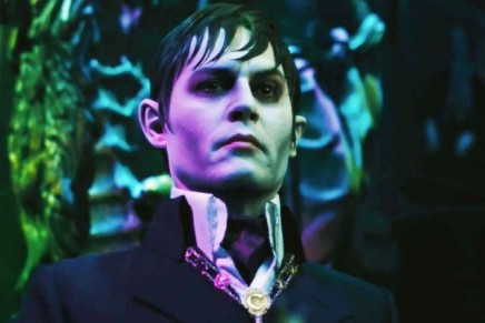 WIN: Johnny Depp!* // *Well. A copy of his film Dark Shadows on DVD, that is…