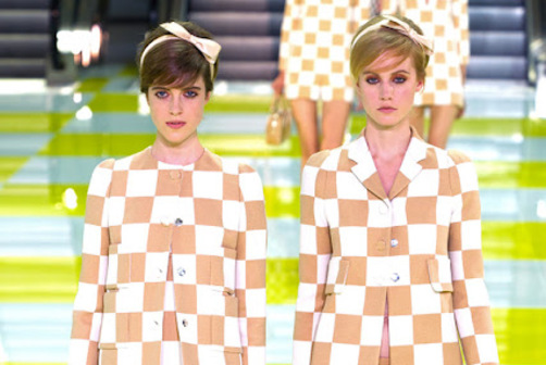 Louis Vuitton SS13 double trouble