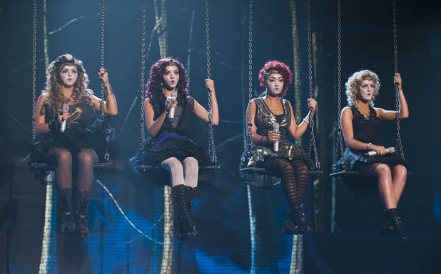 Little Mix X Factor Halloween week