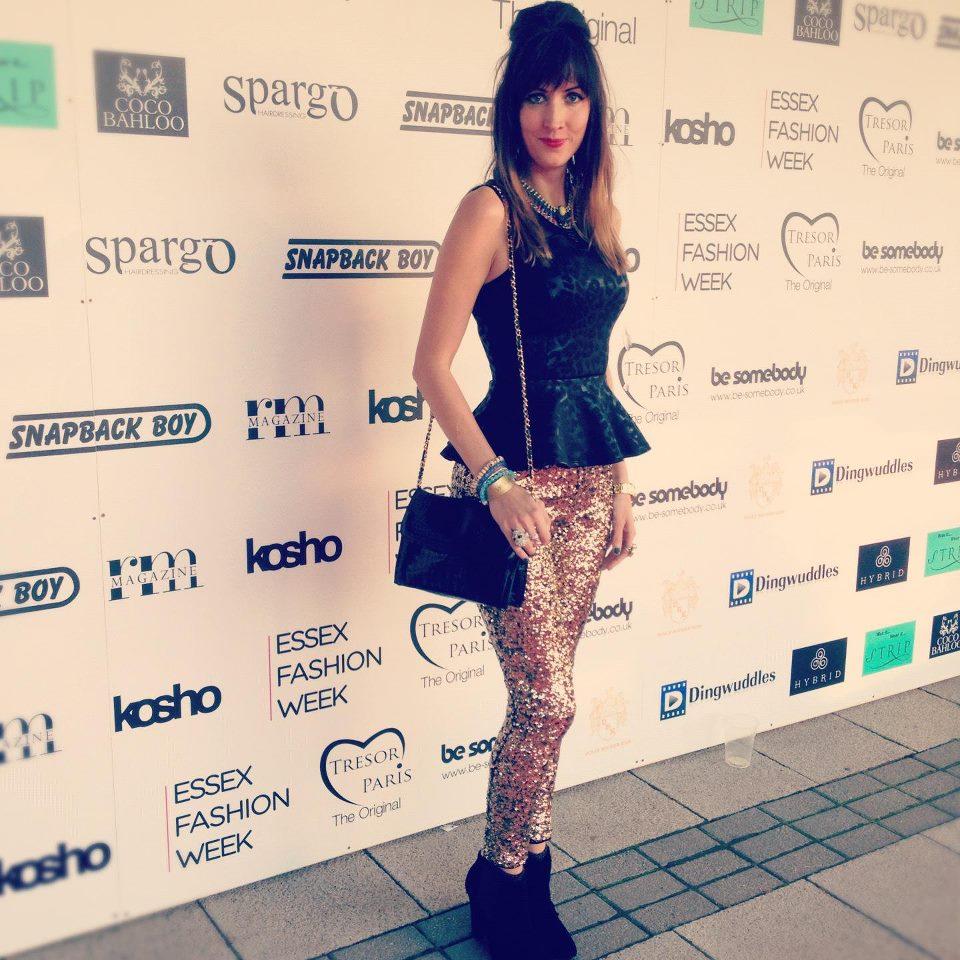 Me at Essex Fashion Week 2012