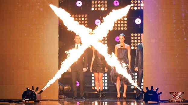 X Factor live show week 1