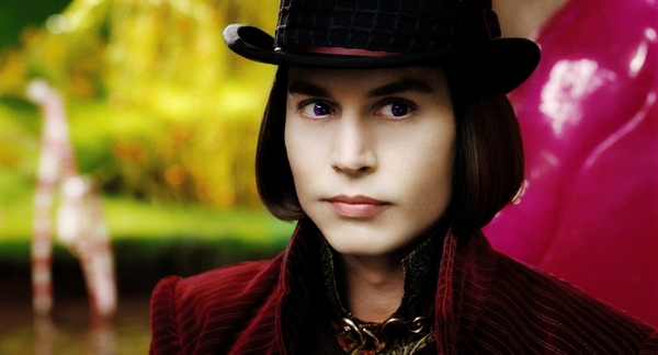 charlie and the chocolate factory johnny depp willy wonka