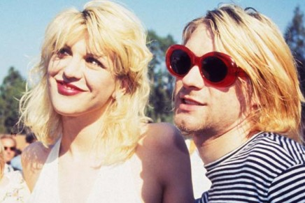 Fashspiration of the week // Kurt and Courtney – a glam take on dishevelled 90s grunge