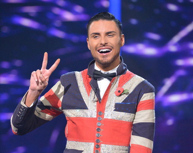 Rylan Clark X Factor Best of British