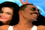 Is this the greatest thing on the internet? // MJ and Eddie Murphy want to know Whatzupwitu?