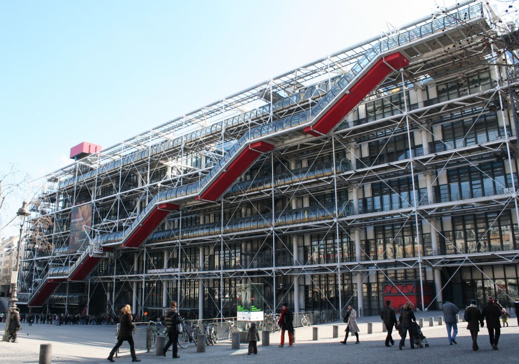 George Pompidou Centre in Paris isnpired Nike Air Max trainers