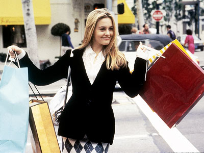 Clueless shopping scene