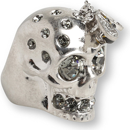 Alexander McQueen skull ring - www.leblow.co.uk