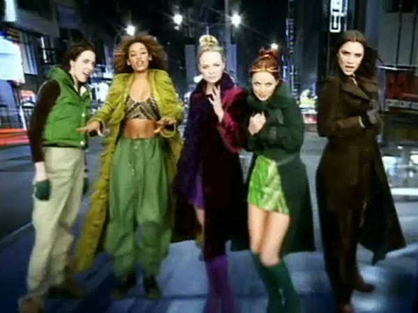 Spice Girls Two Become One video still