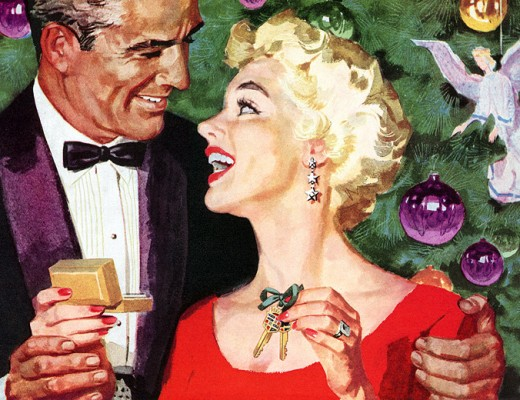 Cadillac Christmas 1956