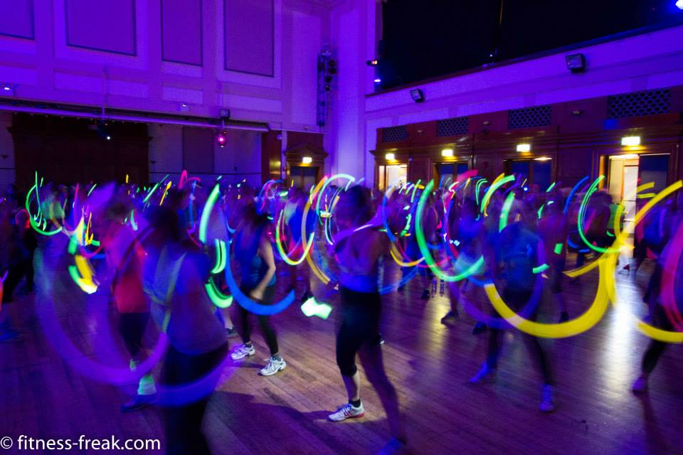 Fitness Freak pop-up rave - leblow.co.uk