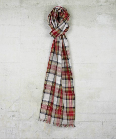 Fred Perry tartan scarf - www.leblow.co.uk