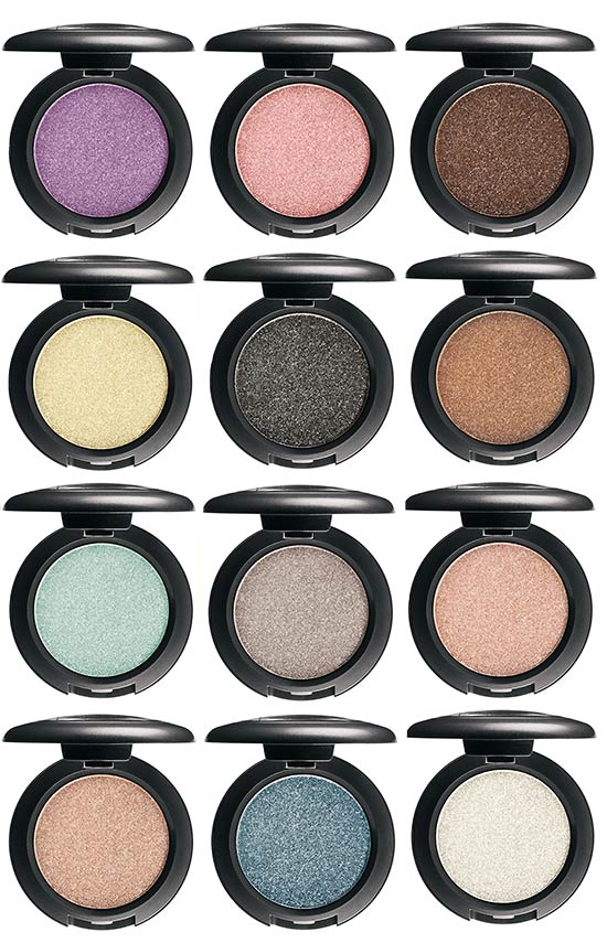 MAC Pressed Pigments eyeshadows