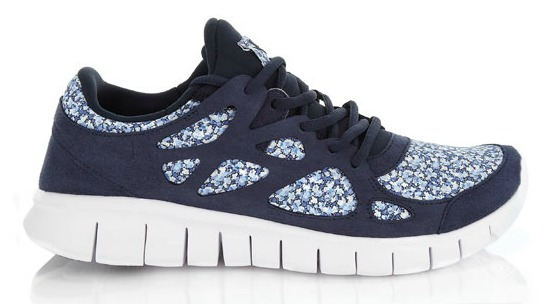 Nike Free Run+2 Pepper Liberty print trainers