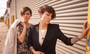 Tegan and Sara - www.leblow.co.uk