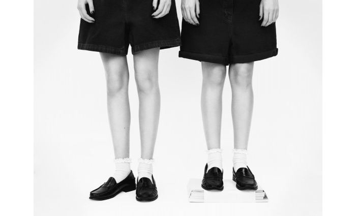 JW Anderson for Topshop patent loafers