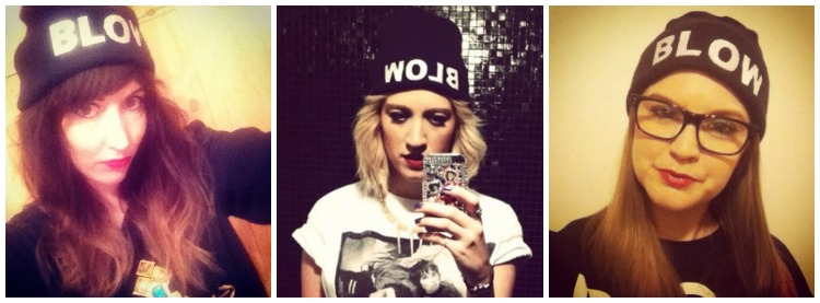 iWhore's BLOW beanies are GO