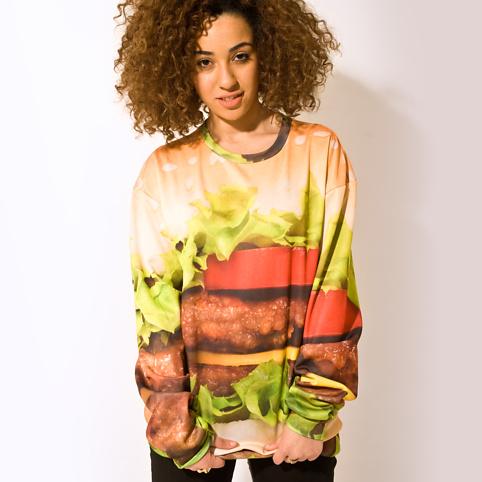 Firebox Hamburger sweater