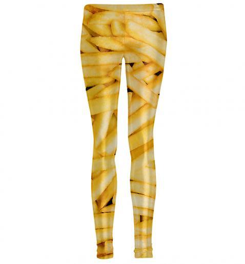 French Fries leggings