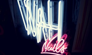 WAH Nails pop-up shop BOXPARK
