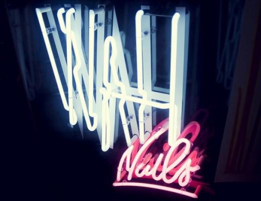 WAH Nails pop-up shop BOXPARK