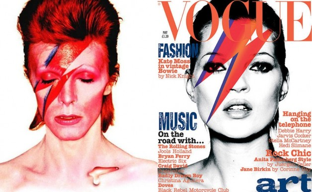 David Bowie Kate Moss Vogue cover 2003