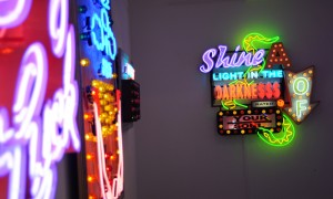 Blow Out (and about) // The Chris Bracey exhibition at Scream London – it's a bit of all bright