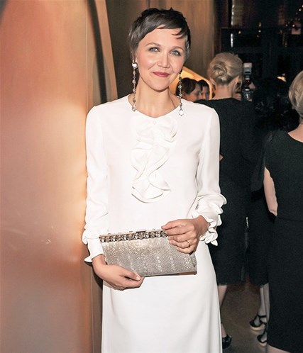 Maggie Gyllenhaal Great Gatsby exhibition opening