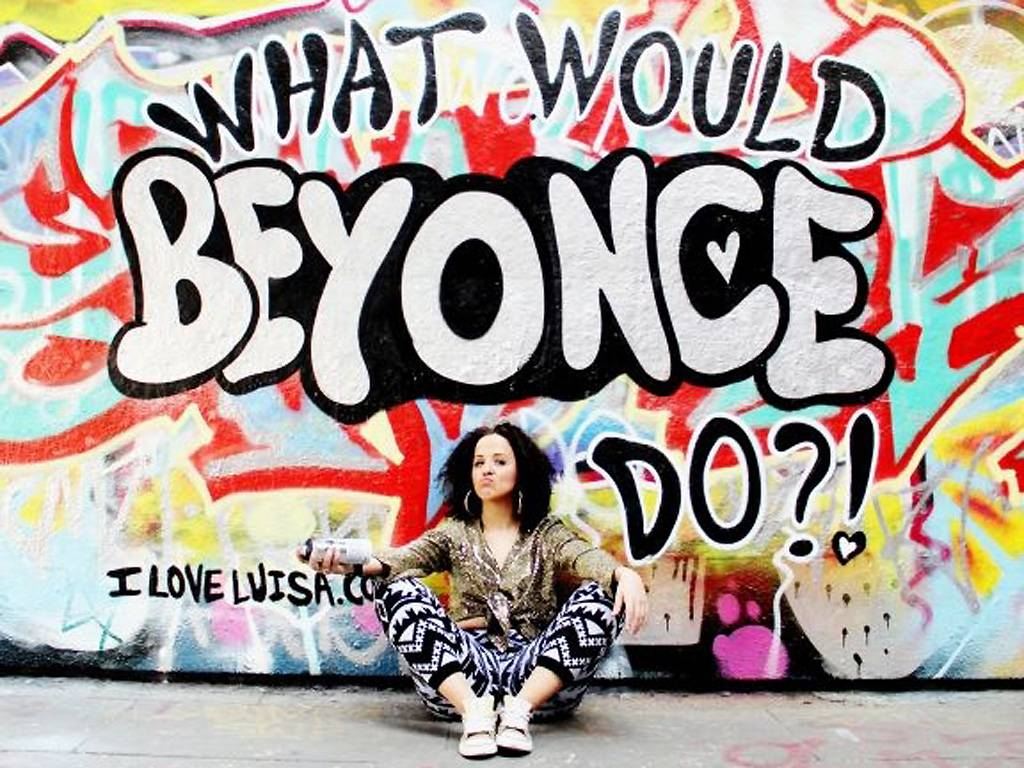 Luisa Omelian What Would Beyonce Do
