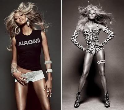 Vogue Italia Naomi Campbell April 2013