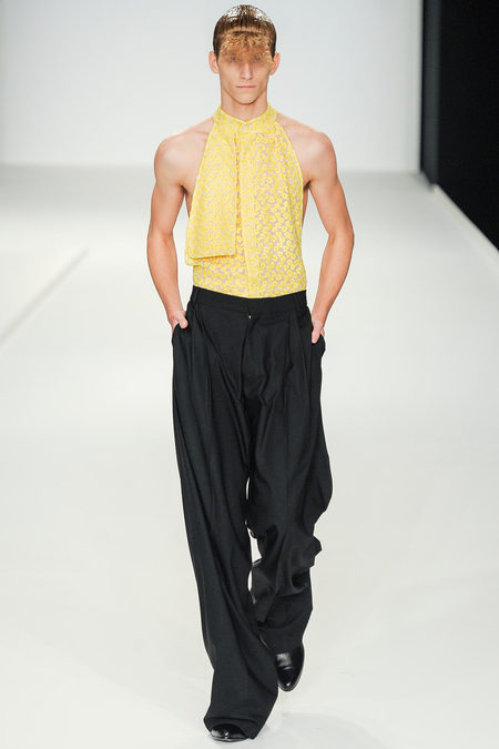 JW Anderson LCM SS14 halterneck top