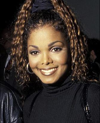 Janet Jackson 90s makeup