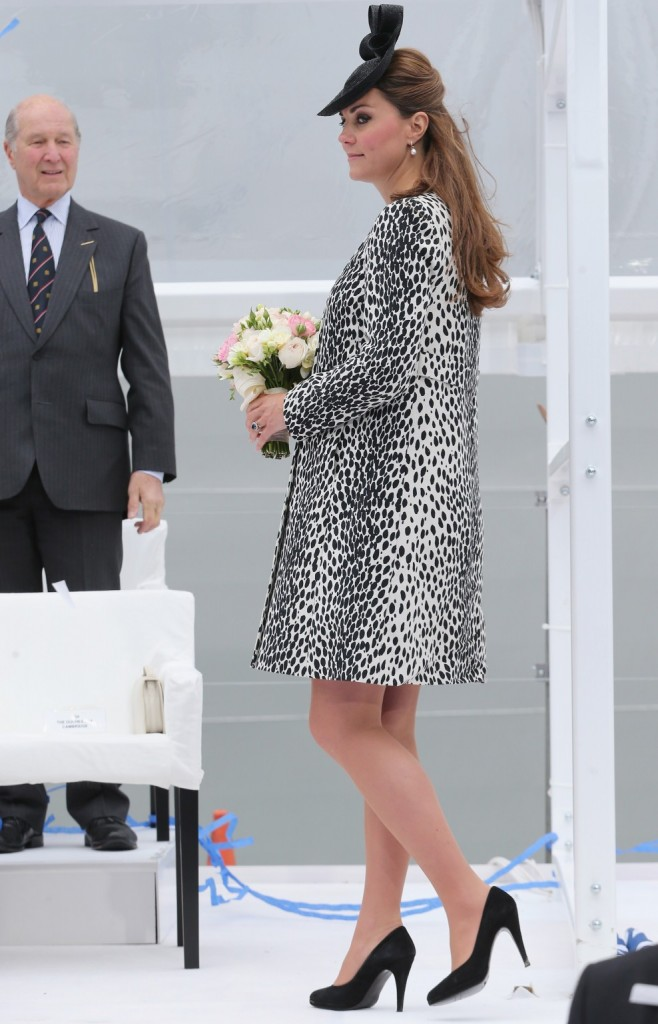 Kate Middleton dalmatian coat
