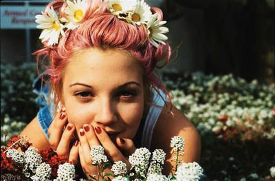Drew Barrymore hippy