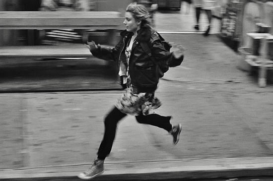 Frances Ha film fashion dresses over jeans - leblow.co.uk