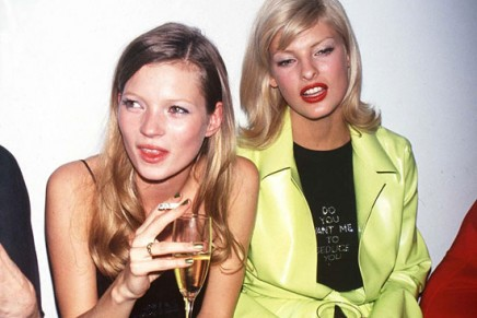 Fashion flashback // 90s supermodels sure knew how to party in style
