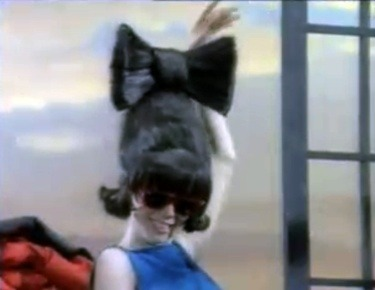Cindy Wilson B52s hair bow