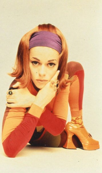 Lady Miss Kier in Pam Hogg 1990