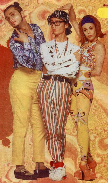 Miss Lady Kier and Deee-Lite
