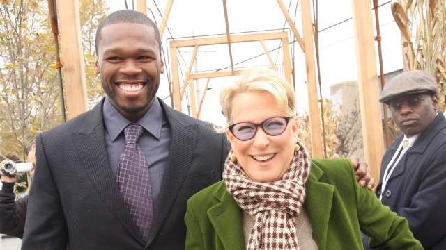 50 Cent and Bette Midler friends