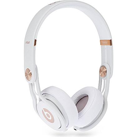 Beats by Dre Dre  rose gold headphones