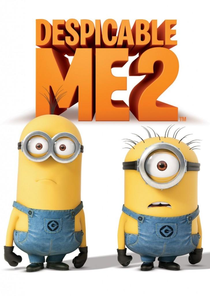 despicable me 2 minions dvd