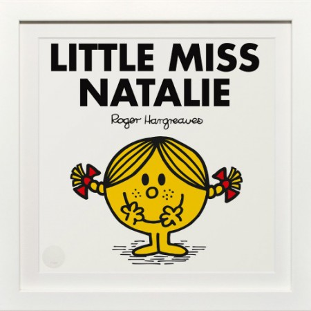 Little Miss Natalie personalised print Selfridges