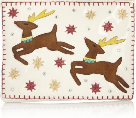 Rudolph clutch bag