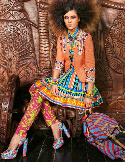 Lilah Parsons YOU african shoot June 2013