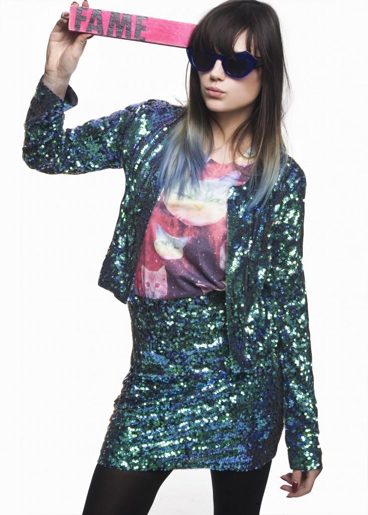 Lilah Parsons cat t-shirt
