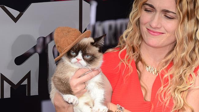 Grumpy Cat MTV Awards 2014