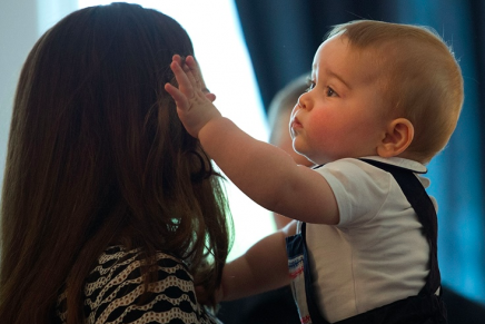 8 pictures where baby Prince George melts even our cold hardened hearts
