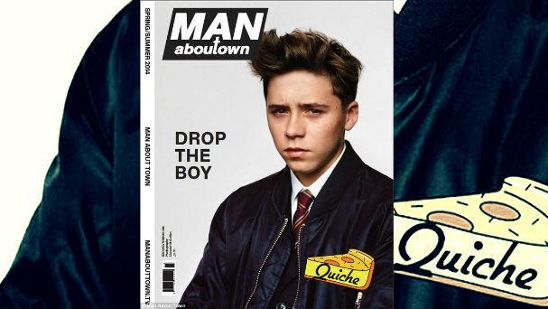 Brooklyn Beckham quiche
