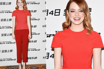 5 of Emma Stone's best looks on the Spiderman 2 press tour